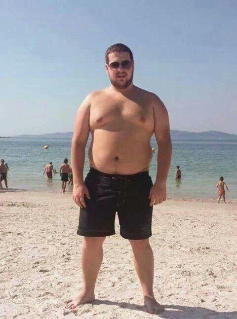 Attractive overweight men
