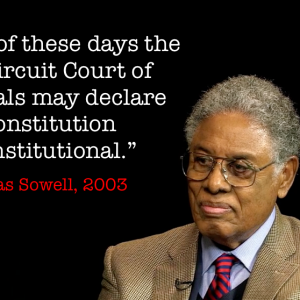 Thomas Sowell 9th Circus Quote