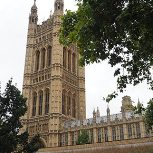 Parliamentary buildings in London